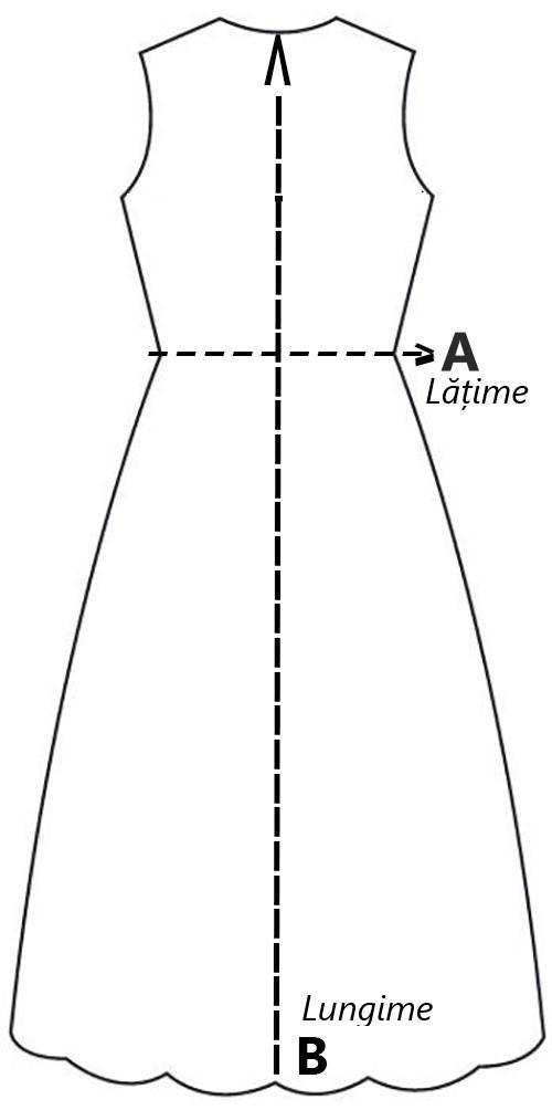 Imagine Rochie Object mărimea M